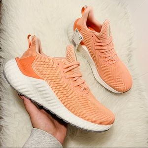 Adidas Alphaboost Running Shoes Coral